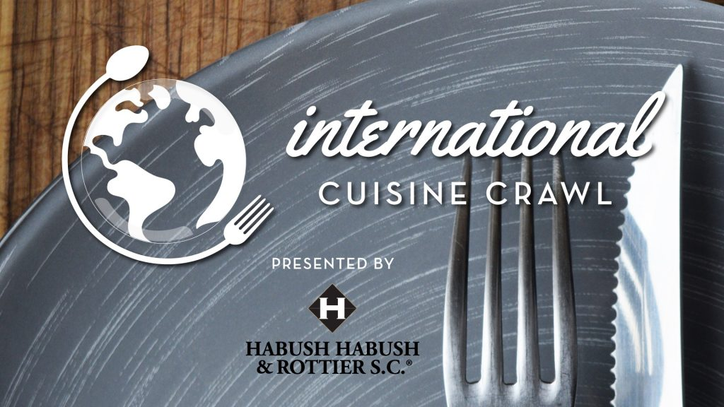 Downtown Green Bay event. International cuisines crawl.
