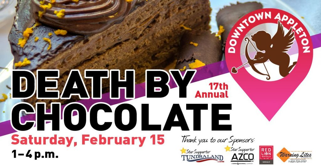 Death by Chocolate event in  Downtown Appleton